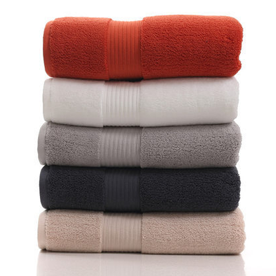 Custom Made 76*152CM Cotton Spa Hotel Bath Towel