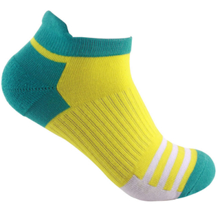 Custom Arch Support Cotton Ankle Men's Running Sport Socks