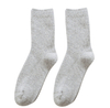 Custom Made Grey Mens Wool Socks