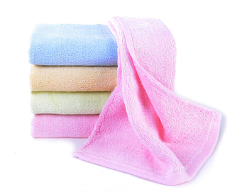 Custom Made 35*75CM Multi Color Soft Bamboo Hand Face Towel