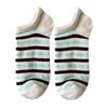 Custom Stripe Bamboo Men Low Cut Ankle Socks