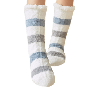 Slipper Socks Fuzzy Christmas Socks Winter Warm Fluffy Fleece Floor Socks