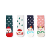 Custom Cotton Women Christmas Ankle Tube Socks