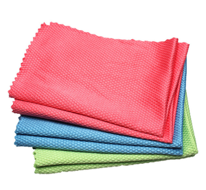 Microfiber Glass Cleaning Cloths for Windows Cars Mirrors Stainless Steel