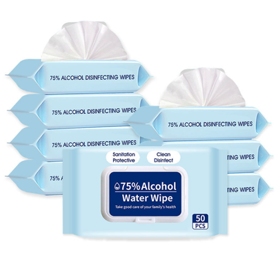 Acohol Sanitizer Cleaning Wipes Disinfecting