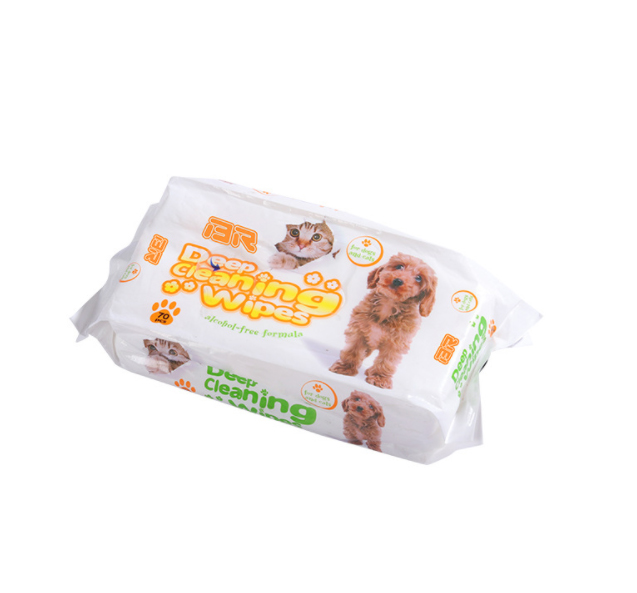 Custom Alcohol Free Hypoallergenic Pet Wipes For Cats and Dogs